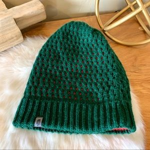 The North Face lined knitted beanie
